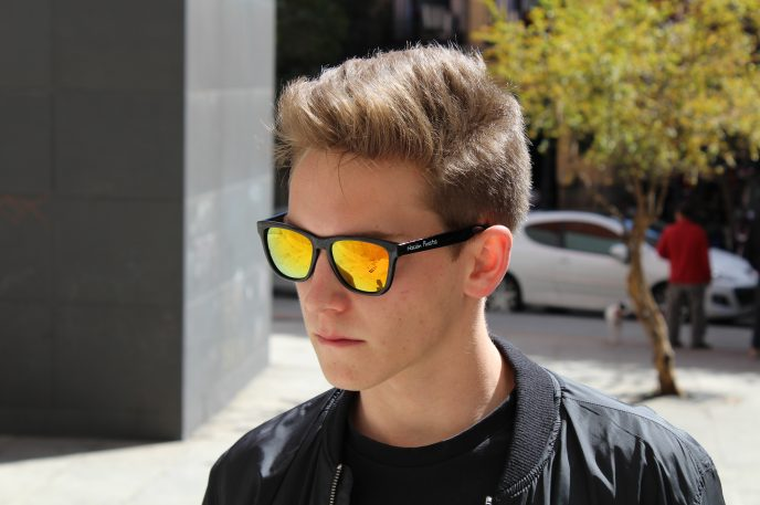 Gafas de sol llamas