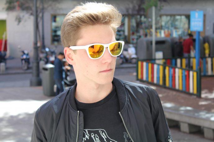 Gafas de sol policarbonato oro