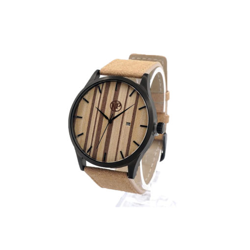 reloj madera bambu pegasus