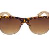 Gafas de sol cala leopardo frontal