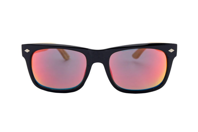 Gafas de sol ceniza de isaura frontal