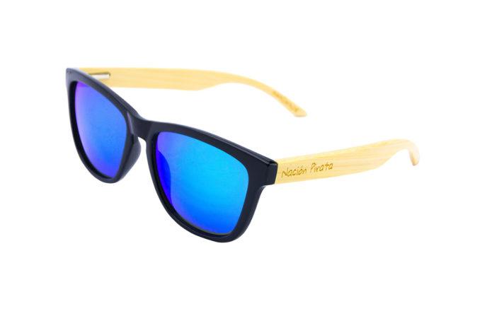 Gafas de sol noche en tropico angulo