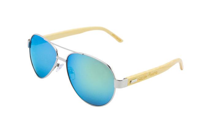 Gafas de sol arrecife dorado angulo