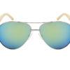 Gafas de sol arrecife dorado frontal