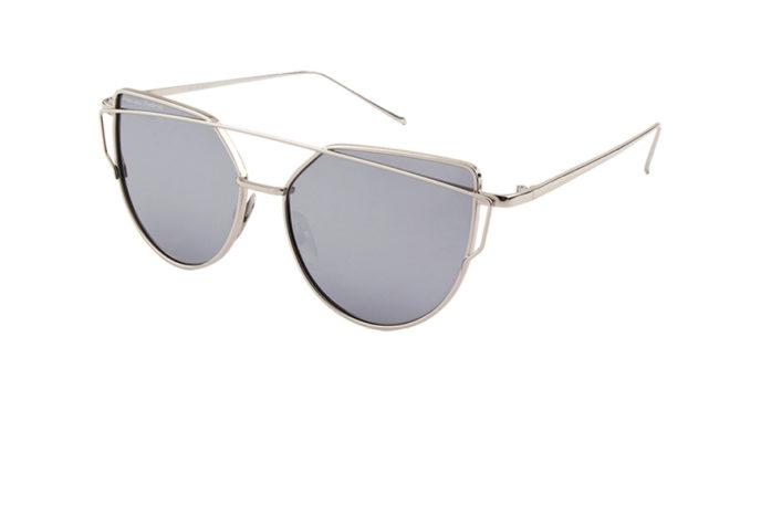 Gafas de sol acero templado angulo