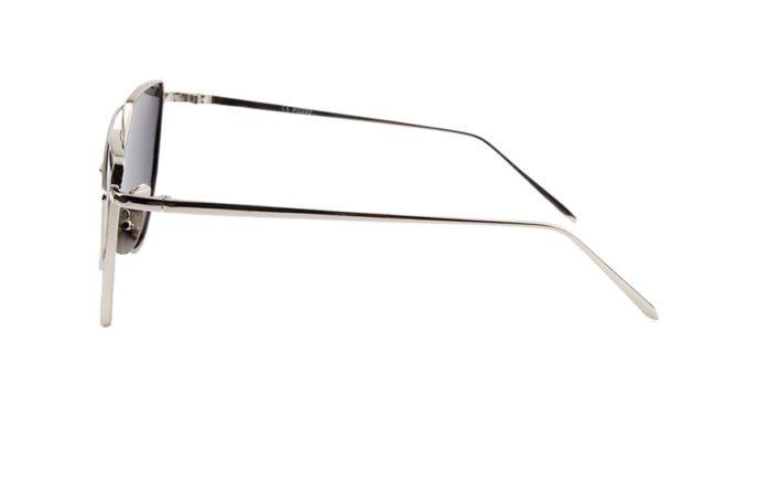 Gafas de sol acero templado lateral