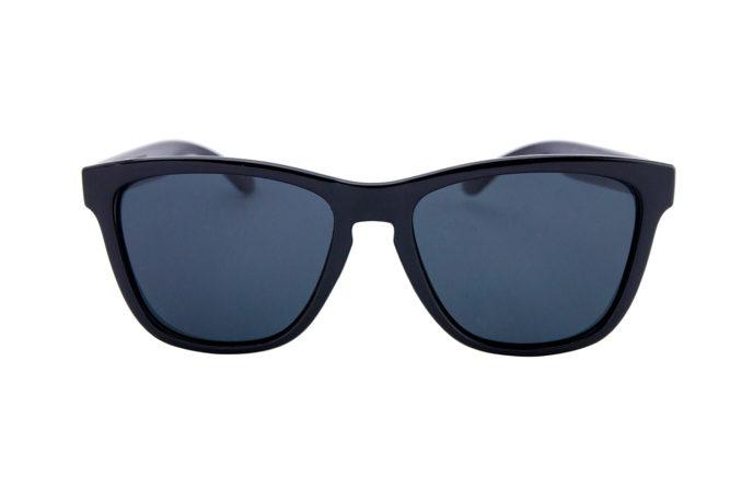 Gafas de sol perla negra frontal
