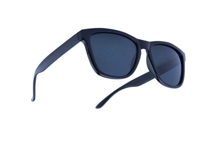 Gafas de sol perla negra arriba