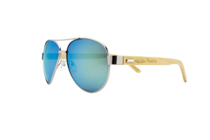 Gafas de sol Arrecife Dorado – lateral