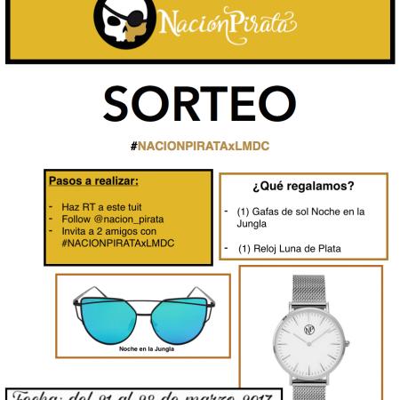 Sorteo Gafas de Sol y Reloj Nación Pirata. Bases legales
